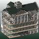 Model 3D Revit BIM sectiune