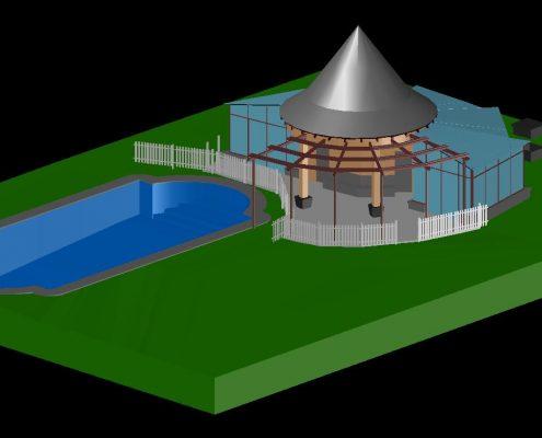 Scanare laser 3D nori de puncte 3D planuri fațade model 3D